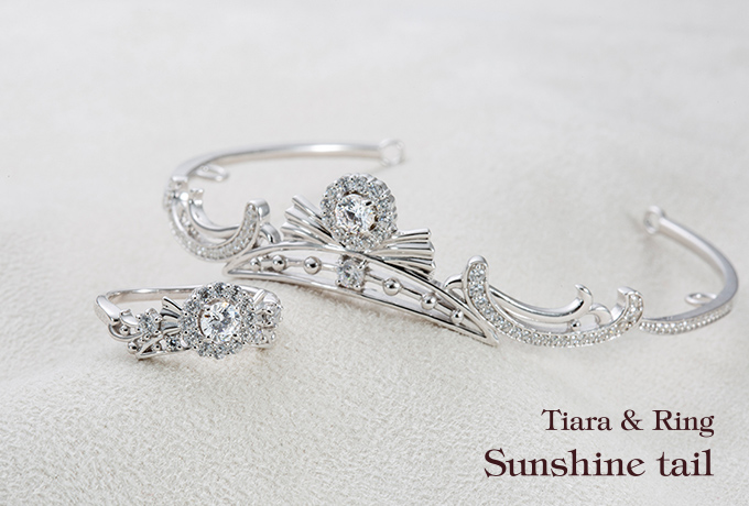 Tiara & Ring - Sunshine tail